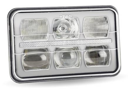 "Picture of 4"" x 6"" Premium LED Projector Headlight, model H25LED"