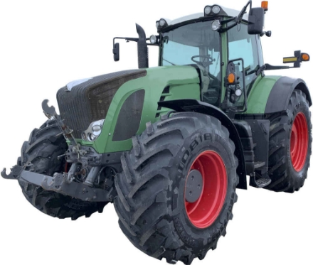 Picture of Larsen LED kit for Fendt with small round lights on rear cab.