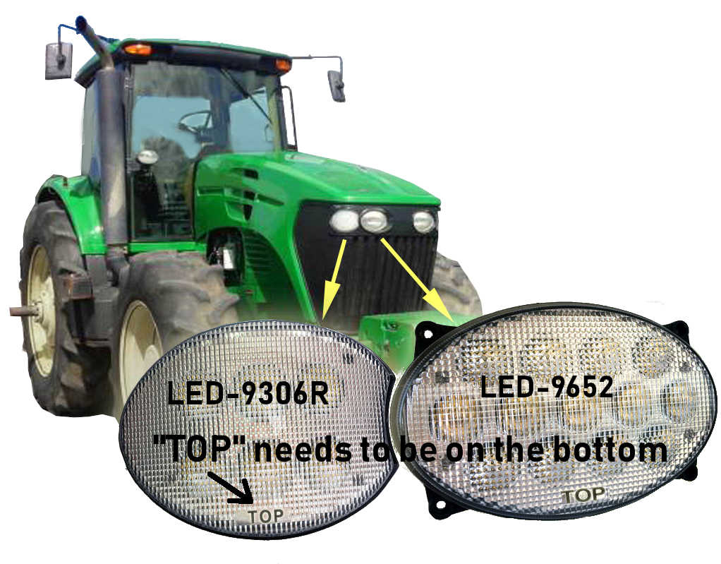 Picture of Larsen LED kit made to fit JD 4720/4730/4830 Sprayers.
