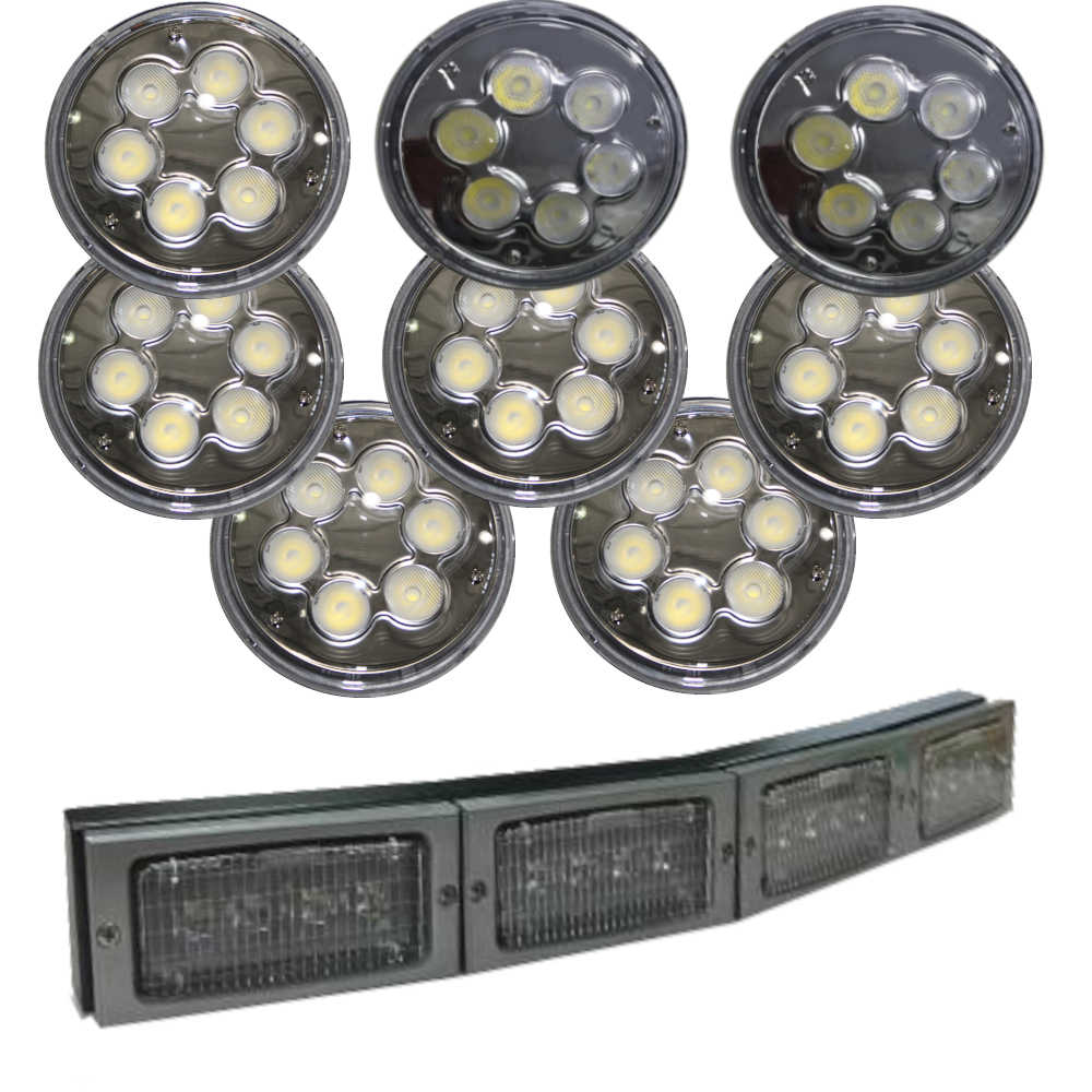 50 series High output w/ 4 grill light kit