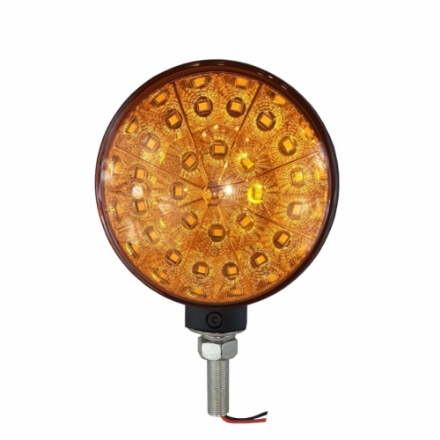 LED-0486, Round Amber / Amber LED light